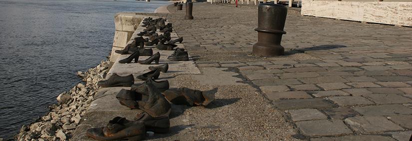 Schuhe am Donaukai