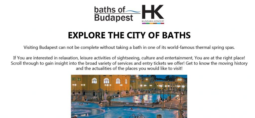 Bath Budapest