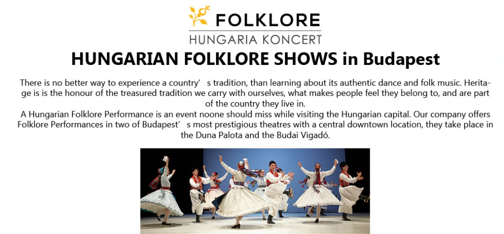 Folklore Shows Budapest